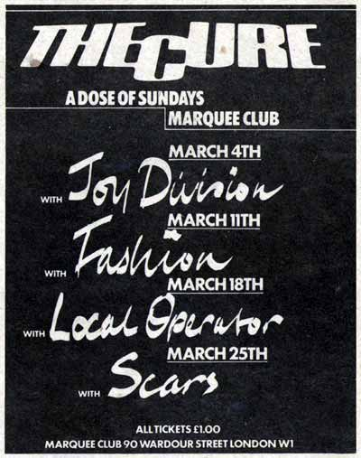 When Joy Division opened for The Cure - Post-Punk com
