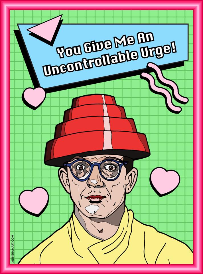 New Wave And Post Punk Valentines Day Cards