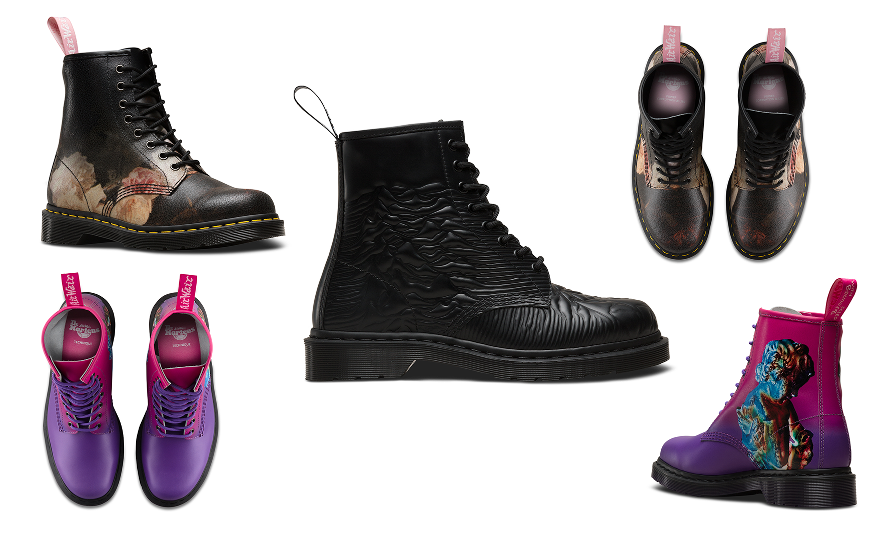 6e15688cf Joy Division and New Order Dr. Martens Boots - Post-Punk.com