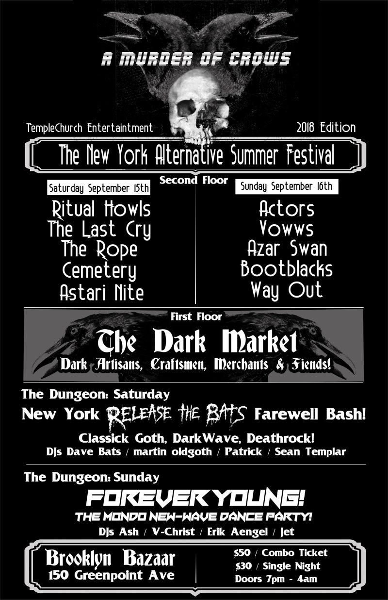 NYC Goth Festival A Murder Of Crows Begins Tomorrow - Post